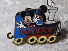 DISNEY JDS CHARACTER TRAIN PIN TRAIN DRIVER MICKEY PIN ENGINE