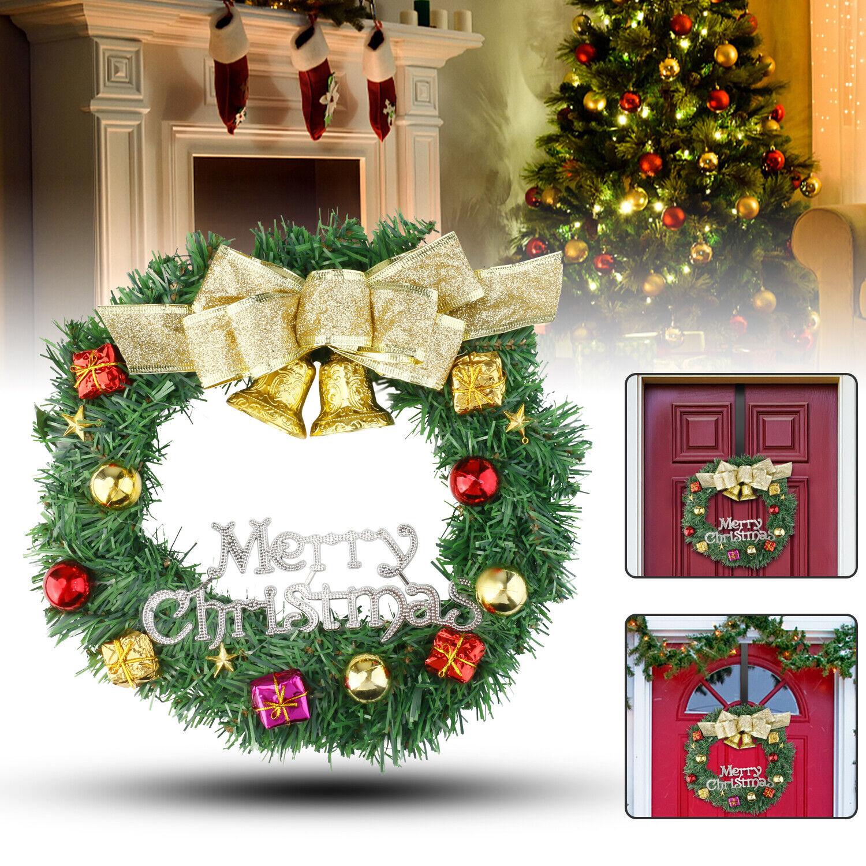 12 Christmas Tree Wreath Front Door Hanging Garland Window Wall Xmas Home Decor For Sale Online