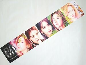 Details about SNSD Girls Generation KPOP Photo Cheer Slogan Towel SM Yuri  Tiffany Sunny SeoHyu