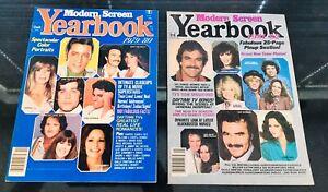 Vintage-Modern-Screen-Yearbook-1979-80-amp-1981-82-Movie-Magazines