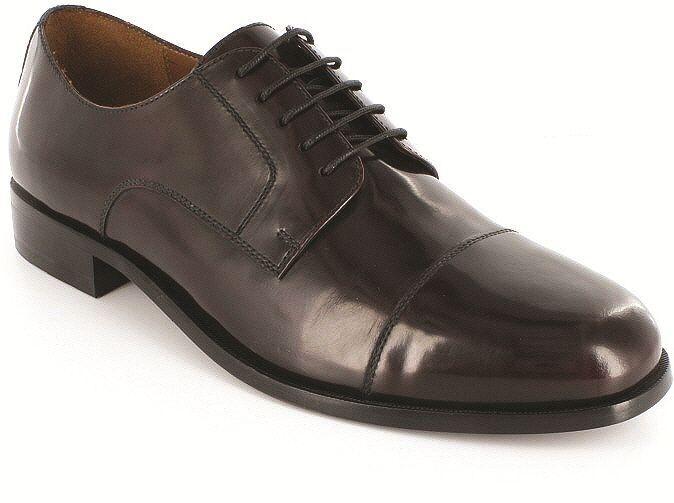 Florsheim Broxton Uomo Burgundy Burgundy Burgundy Pelle Dress Lace Up Comfort Trendy Oxford Shoe bbcd43