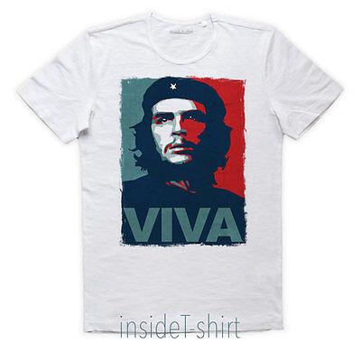 MAGLIETTA VIVA LA EVOLUCION maglia scimmia Che Guevara ape evolution T-SHIRT MAN