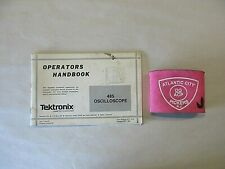 Tektronix 485 Oscilloscope Operators Handbook