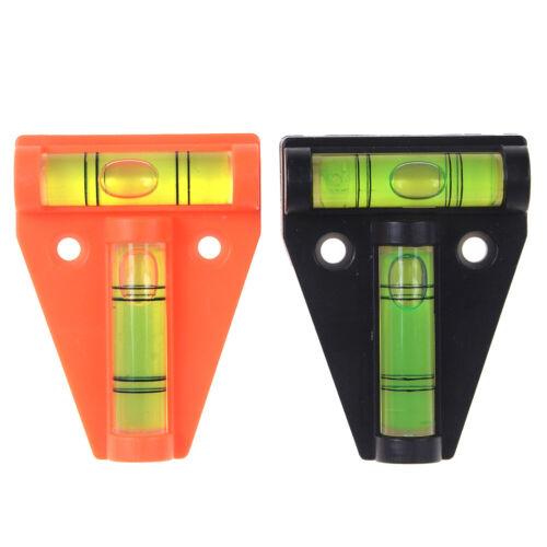 Mini 2way t-en forme de niveau à bulle à outil de mesure Pied niveau Trépied