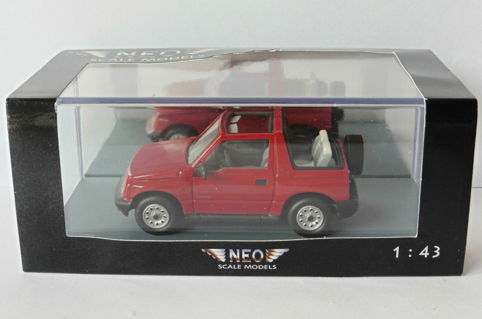 SUZUKI VITARA 1.6 JLX CABRIOLET rouge 1995 NEO 44983 1 43 ROADSTER rouge ROUGE rouge
