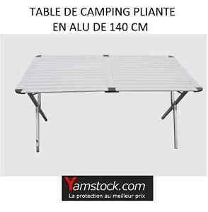 Details About Table De Camping Pliante En Alu De 140cm