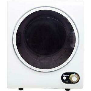 Electric Clothes Dryer Magic Chef 1.5 cu ft Compact White