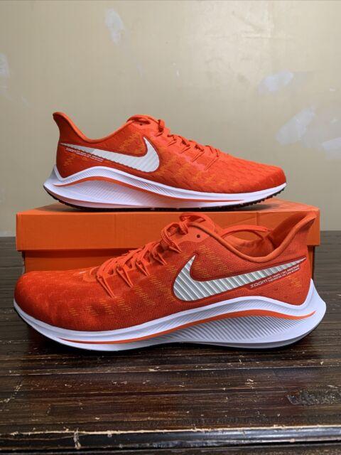 Nike Air Zoom Vomero 14 Mens Running Shoes Ck1969 801 Orange Size 12