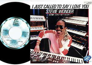 """Stevie Wonder - I Just Called To Say I Love You 