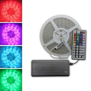 Continuous 1m 5m 10m 15m 20m 12v Rgb 5050 Led Strip Light Flexible Waterproof Ebay