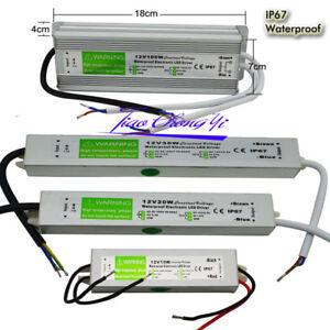 LED Driver AC220V to DC12V 24V 10W 100W LED Power Supply Lighting Transformers