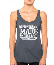 SOUTHERN MADE in the USA Florida vintage 4th of July american Women's Tank Top