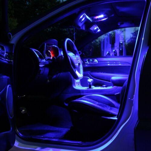 weiß rot blau grün pink Fußraum VW EOS 1F7 1F8 LED Modul Fußraumbeleuchtung