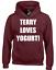 TERRY LOVES YOGURT HOODY HOODIE FUNNY POLICE JAKE BOYLE HOLT