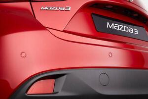 Details about Genuine Mazda 3 2013 onwards Parking Sensor Kit - Rear Only -  C855-V7-290