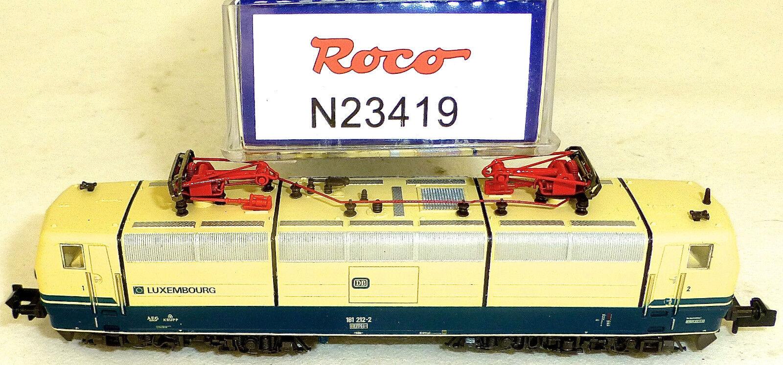 E 181 212 2 electrolok Luxembourg ROCO 23419 N 1:160 OVP NUOVO hq5 µ *