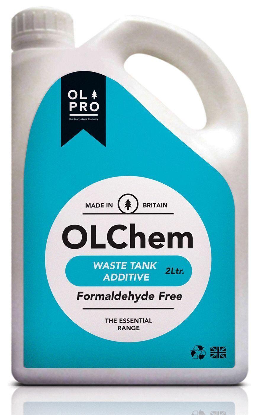 CAMPING TOILET CHEMICAL 2L CARAVAN MOTORHOME - OLPRO OLCHEM