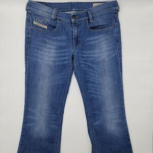 Diesel Lowboot Wash 0RP36 W30 L32 blau Damen Designer Denim Jeans Hose Chic Mode