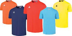 Da-Uomo-Kappa-Lucera-cool-trendy-Cotton-T-Shirt-Top-Giallo-Arancio-Rosso-Blu-Navy-Sky