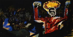 Jean-Michel-Basquiat-Print-on-Canvas-Abstract-art-wall-decor-Profit-I-24x48-034