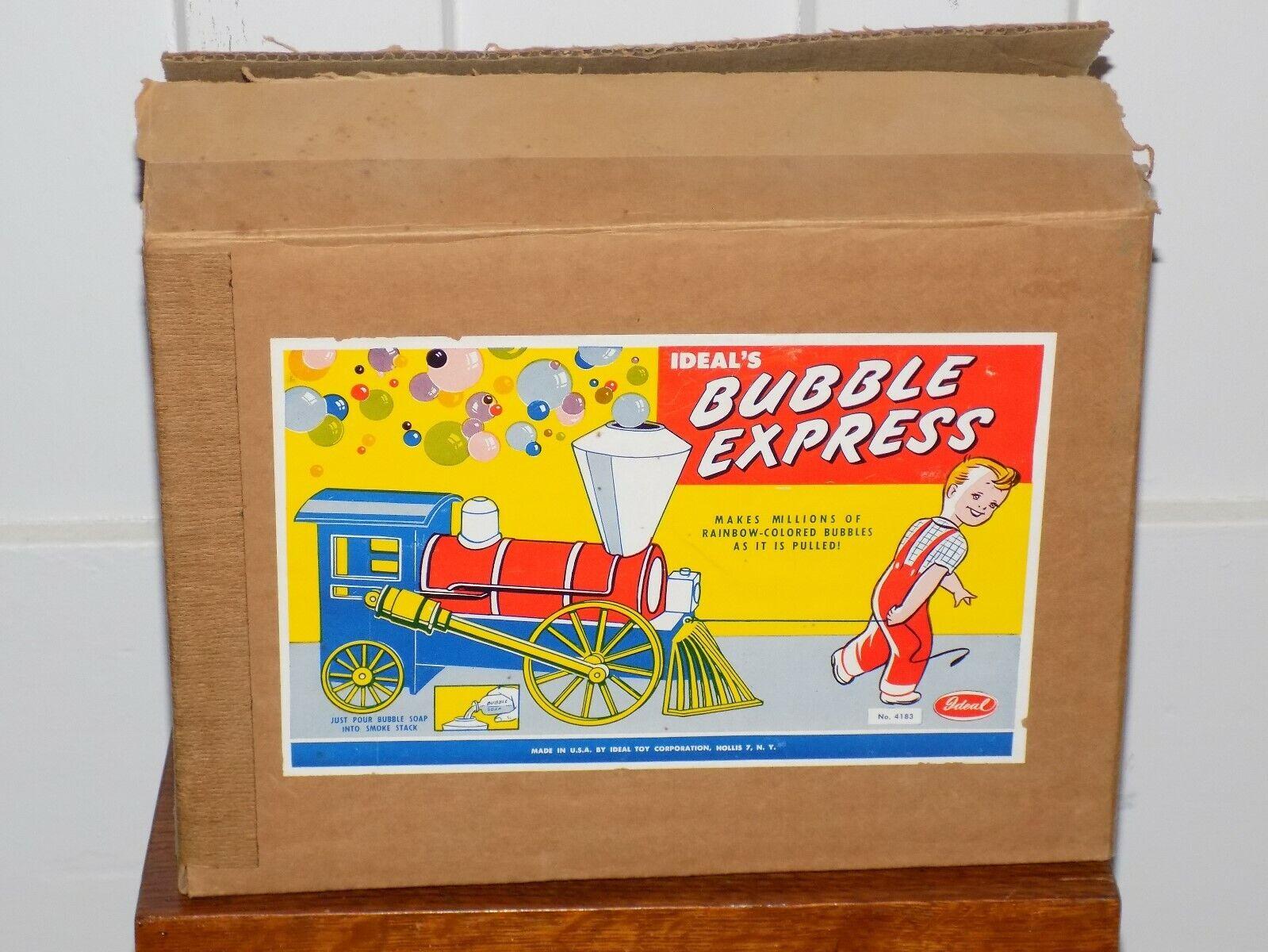 barato La burbuja burbuja burbuja Express tire de juguete Ideal Tren Con Caja  muchas concesiones