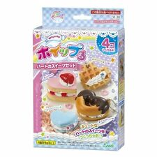 EPOCH DIY Whipple Cream DIY Kit W-38 sweets set hearts shaped Japan new.
