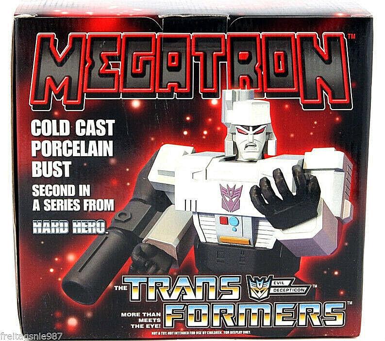 TRANSFORMERS MEGATRON cold-cast porcelain bust 16cm ltd 5000 Hard Hero