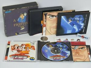 ART-OF-FIGHTING-GAIDEN-Limited-Edition-1685-Neo-Geo-CD-SNK-nc