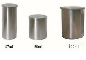 Details about Density Specific Gravity Cups 37cc/ml 50cc/ml 100cc/ml  Stainless steel fast ship