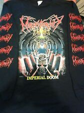 MONSTROSITY-SHIRT IMPERIAL DOOM BROKEN HOPE CANNIBAL CORPSE EATEN BACK TO LIFE