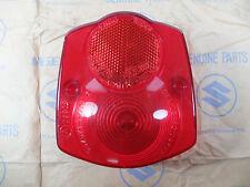 Suzuki GP100 GP125 GT125 Taillight tail lamp lens NOS Genuine Japan