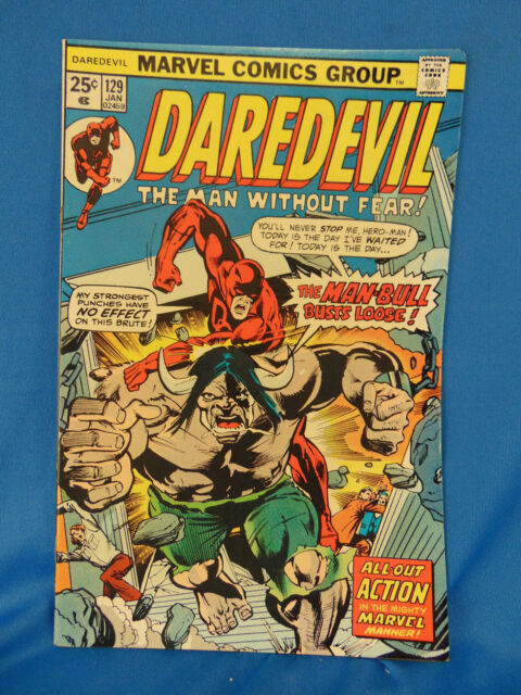 Daredevil 129 Jan 1976 Marvel For Sale Online Ebay