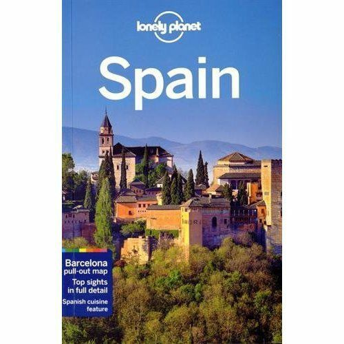 Lonely Planet Spain (Travel Guide) by Lonely Planet,Symington, Andy,St Louis, Re