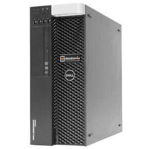 DELL-T3600-Pc-Workstation-Xeon-e5-1650-32gb-RAM-128gb-SSD-v7900-W10