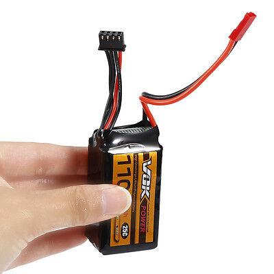 For RC Racing Drone VOK 11.1V 1100mAh 25C 3S Lipo Battery High Capacity