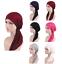 Muslim-Women-Hijab-Cancer-Hat-Chemo-Beanie-Cap-Hair-Loss-Head-Scarf-Turban-Wraps thumbnail 1