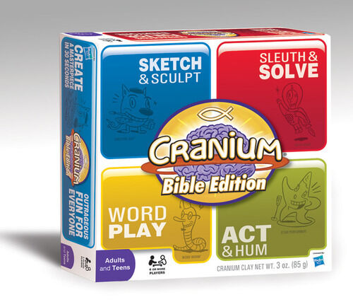 Cranium, Bible Edition, Boardgame, New by Hasbro, in English