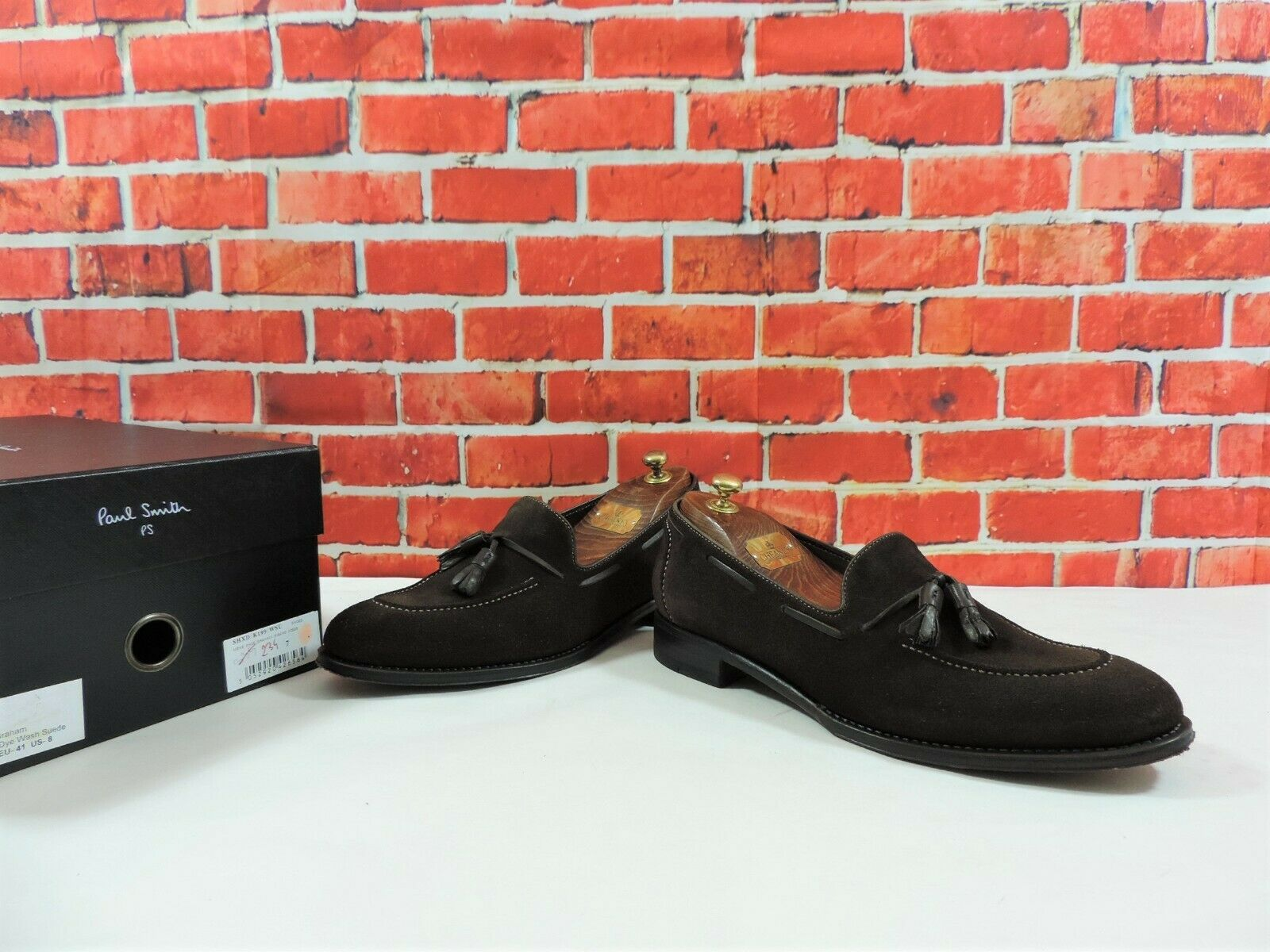 size 40 139b5 798b8 Paul Smith Penny Tassel Loafers Loafers Loafers braun Suede ...
