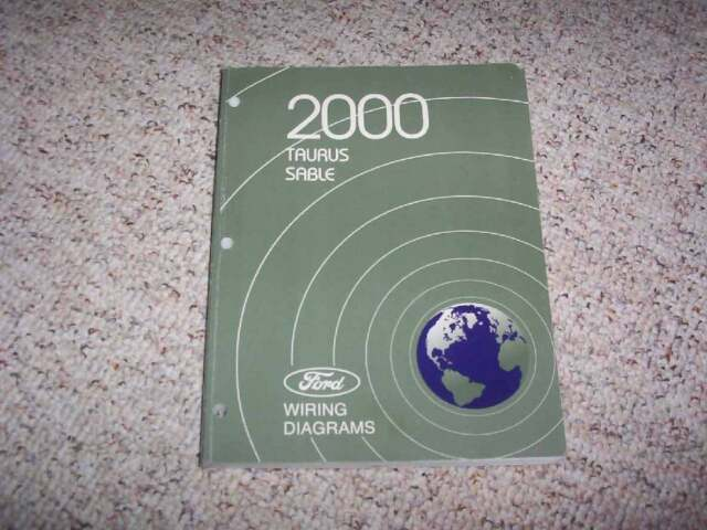 2000 Ford Taurus Electrical Wiring Diagram Manual Se Ses