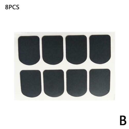 Pads Rubber U2M3 8pcs Alto or Tenor Saxophone Mouthpiece Patches Pads Cushions