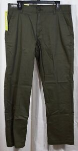 Lee Men's Performance Series Extreme Comfort Straight Fit Pant Green Size 34/32