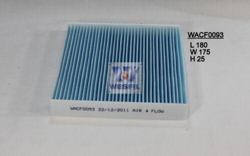 WESFIL CABIN FILTER FOR Honda Jazz 1.3L 1.5L 2002-09//04 WACF0093