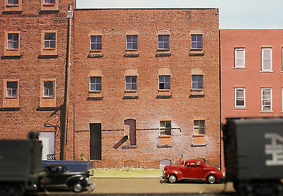 #210 N scale background building flat  BACKSIDE #10   FREE SHIPPING