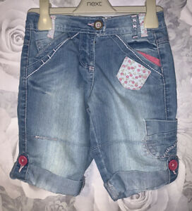 Girls Age 5 (4-5 Years) Matalan Denim Shorts