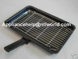 BELLING-Cooker-Oven-GRILL-PAN-amp-HANDLE-360mm-x-240mm