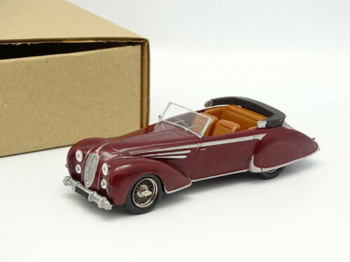 CJM Kit assembled Metal 143 Delahaye 135 MS 1946 Figoni Falaschi Red
