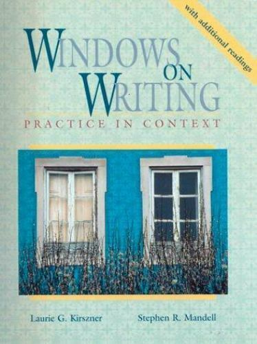 Windows on Writing : Practice in Content with Additional Readings