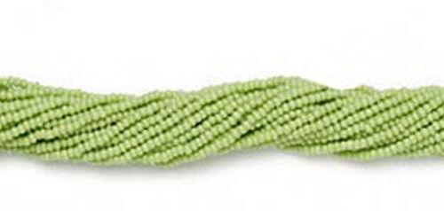 12 Strands Preciosa Czech Glass Seed Beads Size 11//0 Color Choice 1 Full Hank