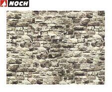NOCH Granite Wall Card 64x15cm HO Gauge Scenics 57700
