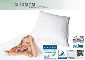 Allsana Allergiker Kissenbezug 40x40 Cm Encasing Anti Milben